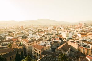 Panorama Miasta w Hiszpani
